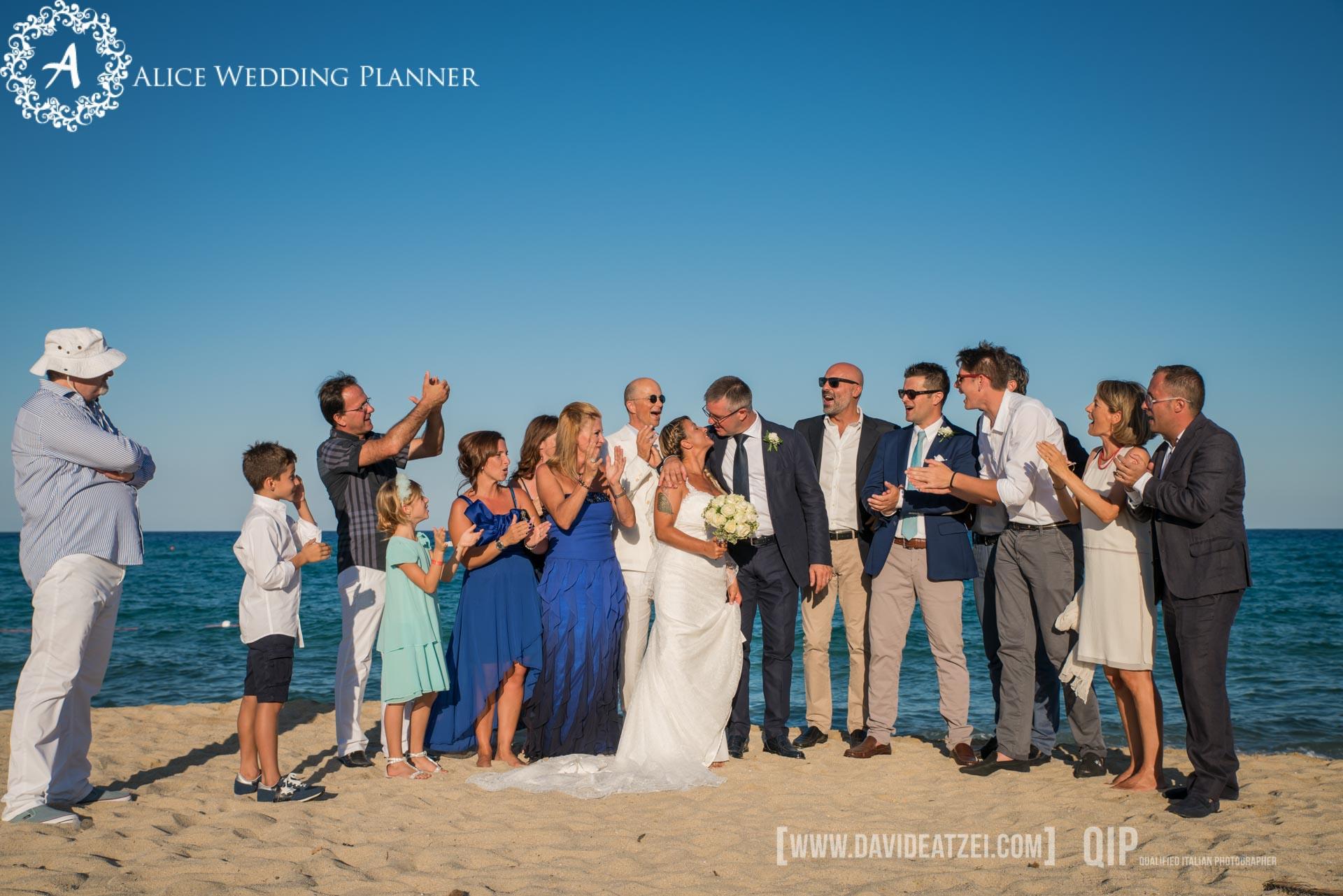 Wedding Beach in Cala Sinzias-Sardegna